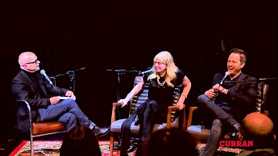 Kevin Sessums, Courtney Love, and Todd Almond